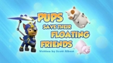 Pups Save Floating Friends