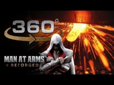 Forging The Sword of Altair in 360° (Assassin's Creed)