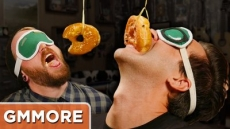 Donut On A String Challenge - Good Mythical More