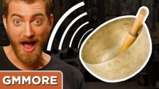 Playing Rhett's Singing Bowl - Good Mythical More