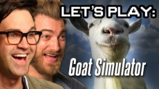 Let's Play: Goat Simulator - Good Mythical More
