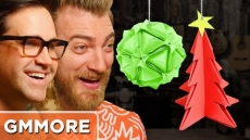 DIY Origami Christmas Ornaments - Good Mythical More