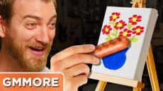 Painting with Hot Dogs - Good Mythical More