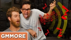 Air Guitar Competition: Rhett vs. Link - Good Mythical More
