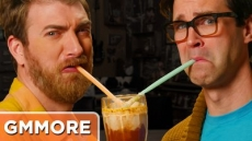 Spaghetti Ice Cream Float - Good Mythical More
