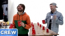 Hot Sauce Flip Cup - Good Mythical Crew Ep 52