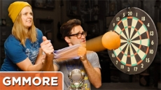Sports Bra Slingshot Game - Good Mythical More