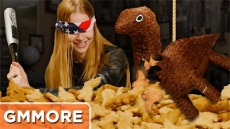 Dinosaur Nuggets Piñata - Good Mythical More