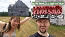 Exploring Abandoned Bad Foundation House