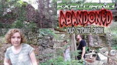 Exploring Abandoned Old Stone Cabin