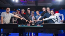 2016 WSOP Main Event Final Table Day 1