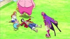 A Deadly Poison Crisis! Luffy and Reiju!