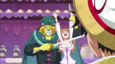 The Emperor's Daughter! Sanji's fiancée - Pudding!