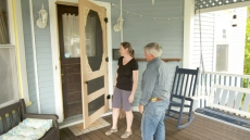 Custom Screen Door; Paint Trim