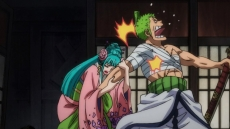 Zoro, Stunned! The Shocking Identity of the Mysterious Woman!