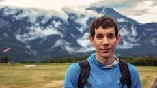 Alex Honnold in the Swiss Alps